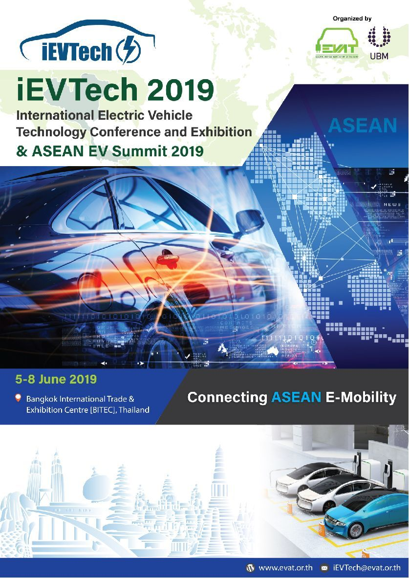 iEVTech 2019 June 5th-9th, 2018 @BITEC