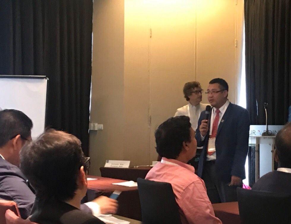 """นายกสมาคมยานยนต์ไฟฟ้าไทย ร่วมนำเสนอในหัวข้อ """"สถานการณ์ของยานยนต์ไฟฟ้าในประเทศไทยและการพัฒนาในอนาคต"""" ในงาน 2nd CharIN Asia Conference"""